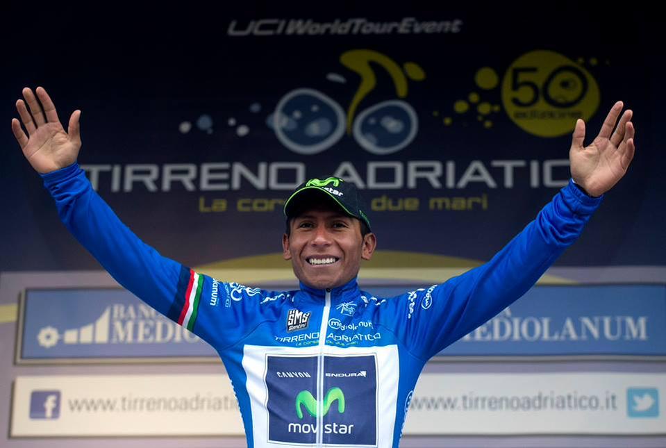 Nairo Quintana se coronó campeón de la Tirreno-Adriático