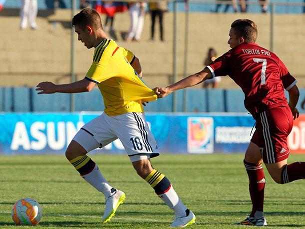 Selección Colombia Sub 17 no logró ganar ante Venezuela