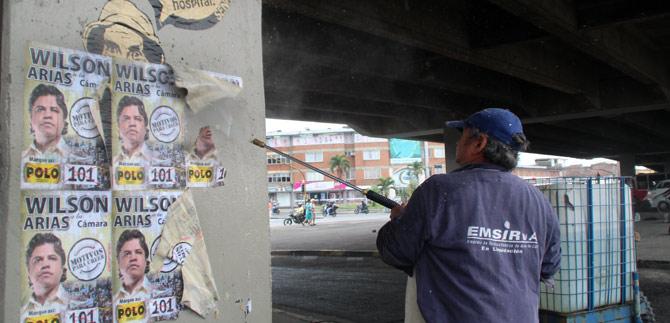 Secretaría de Gobierno regula la publicidad política en la ciudad