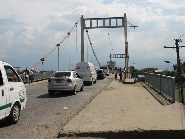 Puente de Juanchito no será cerrado en Semana Santa
