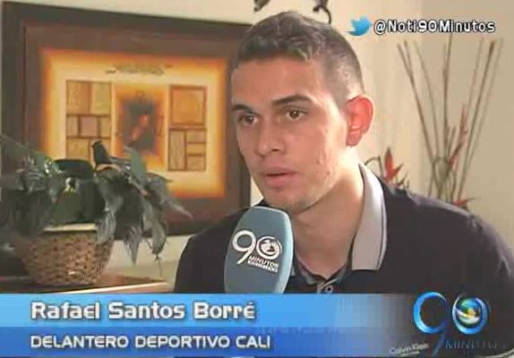 Rafael Santos Borré, la promesa goleadora del Deportivo Cali
