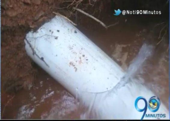 Dos atentados vandálicos han dejado a Restrepo sin agua