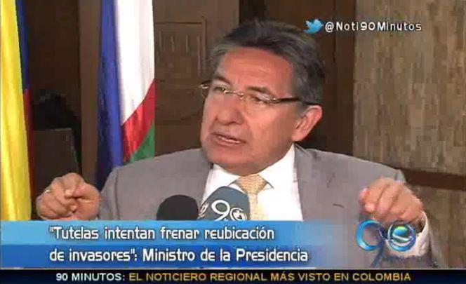 """""""Hay quienes torpedean el proceso en el Jarillón del río Cauca"""" Superministro"""