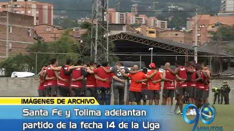 Panorama Deportivo: Santa Fe y Tolima se le adelantaron a la Liga