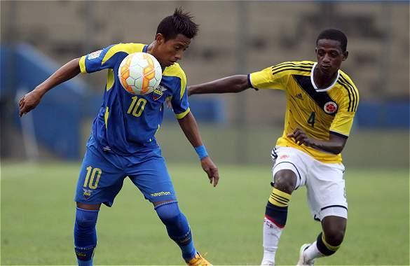 La Sub 17 perdió ante Ecuador y se quedó sin Mundial