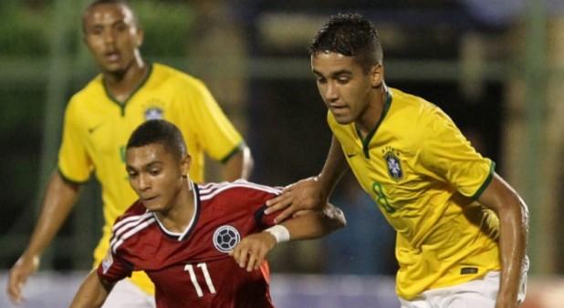 Colombia perdió por la mínima diferencia en su debut en el Suramericano