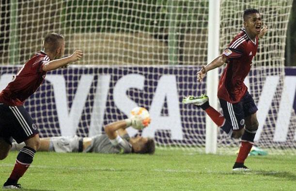 La selección Colombia sub-17 clasificó a las finales del torneo