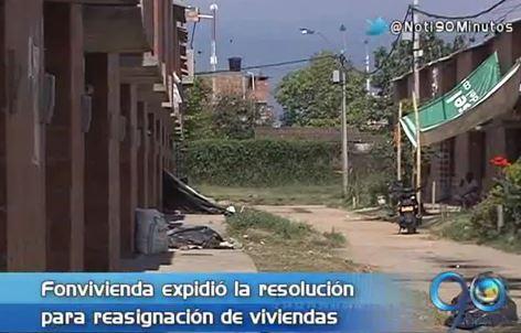 Desafectan casas de Barrio Taller ocupadas por desplazados