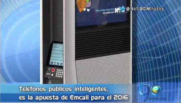 En 2016 habrá teléfonos públicos inteligentes en Cali
