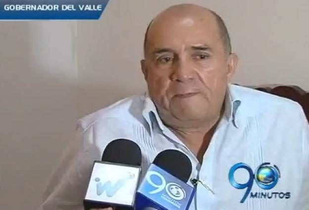 Gobernador del Valle apela orden de arresto en su contra