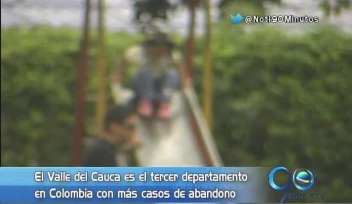 Valle: tercer departamento con mayor número de menores abandonados