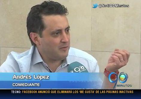 Andrés López presentó 'La Pelota de Letras' en sus 10 años
