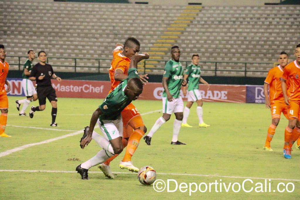 Sin su público el Deportivo Cali sufrió un resbalón en Palmaseca