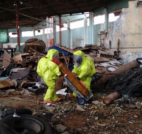 Tres personas afectadas por fuga de cloro en el centro de Cali