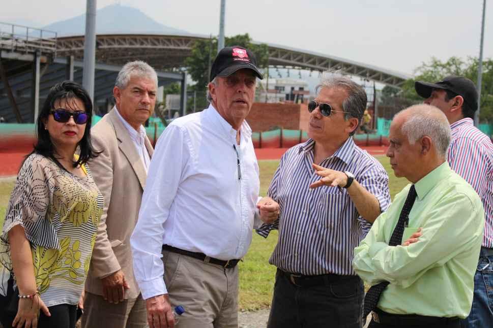 Gobierno evalúa a Cali como apoyo para los Juegos Nacional 2015