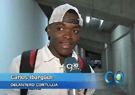 """Carlos Ibargüen, el """"Verdugo"""" del Deportivo Cali en 2015"""