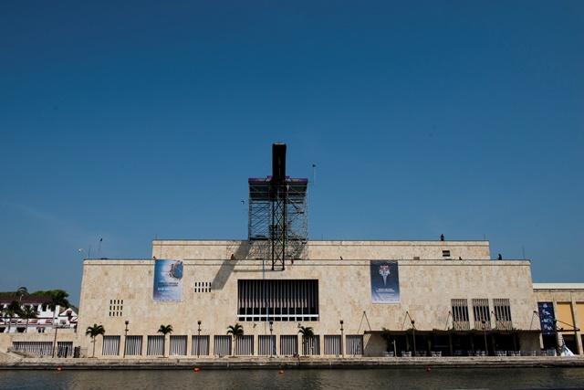 Cartagena recibió a los clavadistas para la parada Mundial Cliff Diving