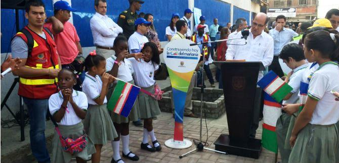 Alcalde recorrió los tramos más importantes de la Comuna 15