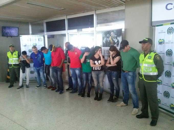 Diez extranjeros fueron capturados en el aeropuerto Alfonso Bonilla Aragón