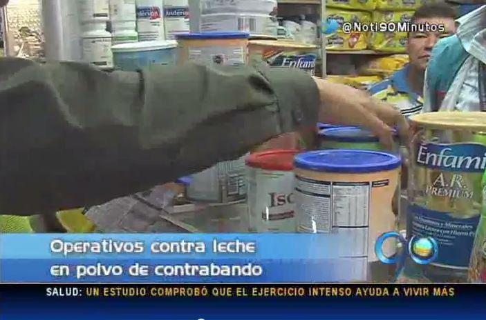 Decomisan leche en polvo de contrabando que entró desde Venezuela