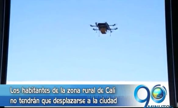 Drones mensajeros en la Ese de ladera transportarán muestra de laboratorio