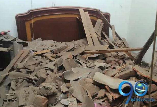 Alarma en San Bosco por posible caída de un edificio donde viven ancianos