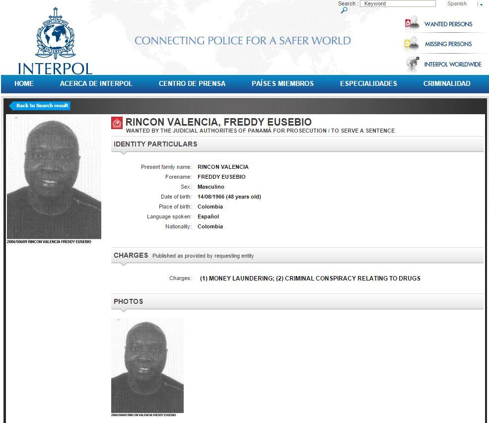 Dudas en el caso de Freddy Rincón tras circular de la Interpol