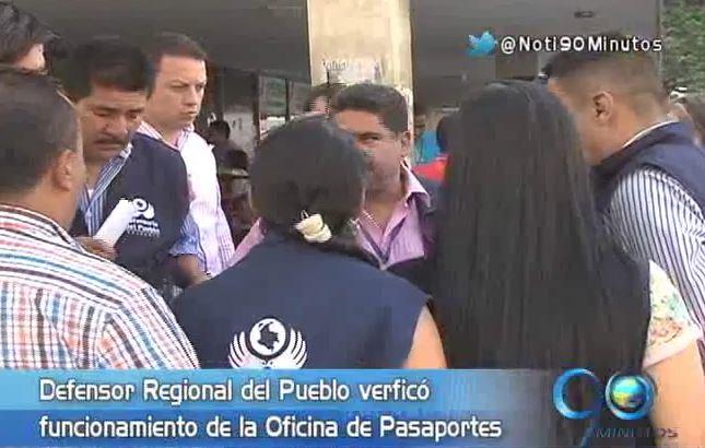 Defensoría del Pueblo rajó a la Oficina de Pasaportes