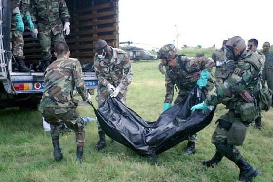 Un guerrillero muerto y seis capturados deja operativo militar