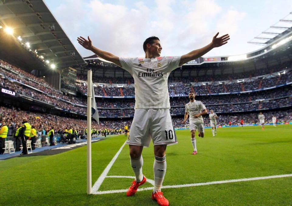 Video: James Rodríguez sigue conquistando los corazones del Madrid