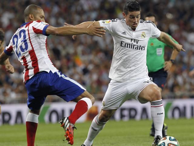 James Rodríguez, el encargado de dirigir la clasificación del Real Madrid
