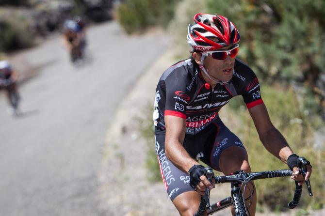 Janier Acevedo el mejor colombiano en la primera etapa de la Vuelta al País Vasco