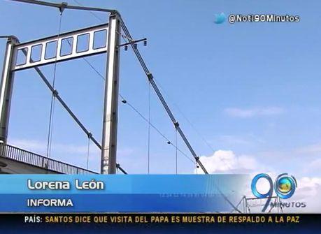 Iniciaron obras de reforzamiento del puente de Juanchito