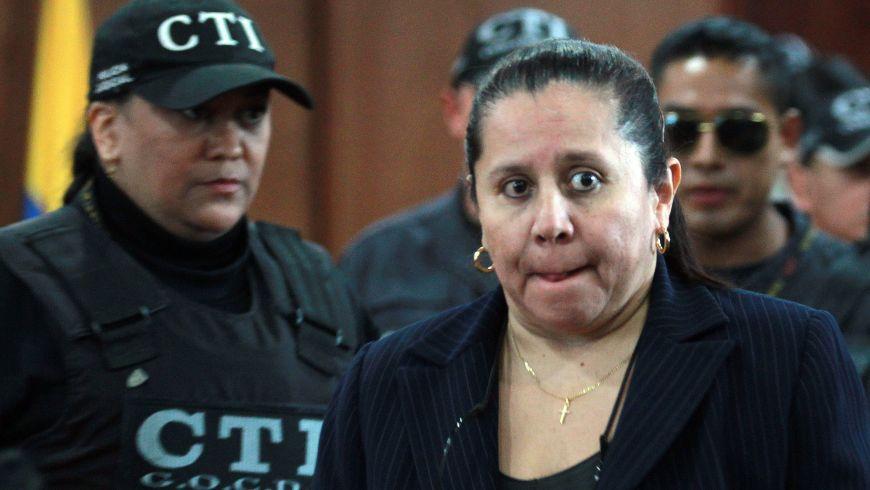 María del Pilar Hurtado condenada a 14 años de cárcel