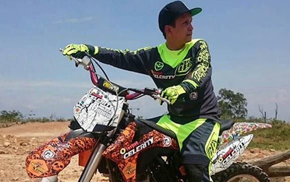 Motocrosista caleño que se accidentó en México, busca fondos para su tratamiento