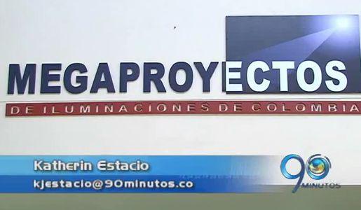 El 2 de julio se termina el contrato de alumbrado público con Megaproyectos