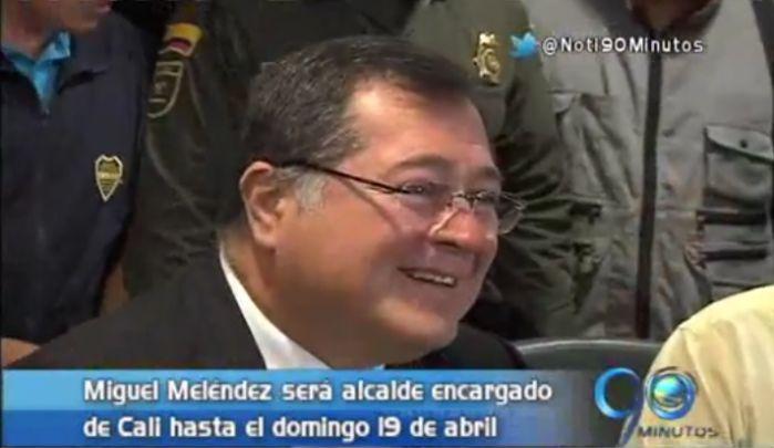 Miguel Meléndez fue designado Alcalde (e) de Cali  hasta 19 de abril