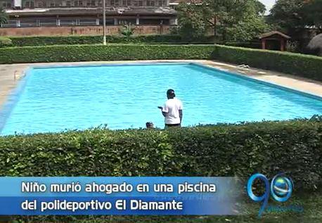 Niño de 5 años murió ahogado en el Polideportivo El Diamante