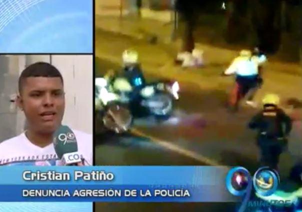 En trifulca con policías, varios jóvenes resultaron heridos