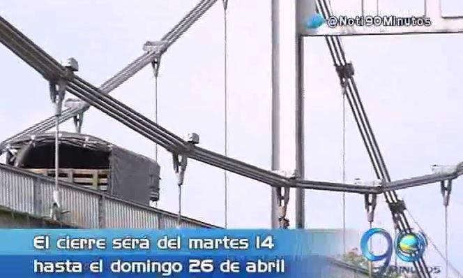 Aclaran fechas y horarios de cierre del puente de Juanchito