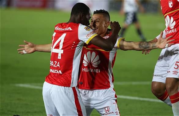 Santa Fe ganó y avanzó a octavos de final en Copa Libertadores