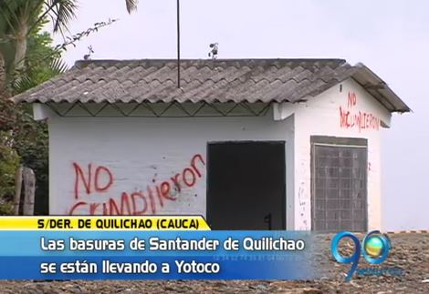 Basurero en Santander de Quilichao podría afectar algunas fuentes de agua