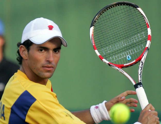 Santiago Giraldo clasificó a la tercera ronda del ATP 500 de Barcelona