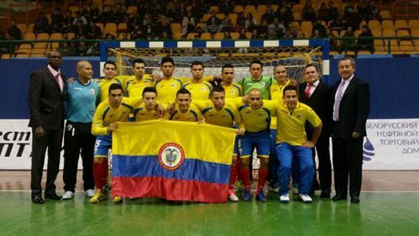 Colombia goleó y se coronó campeón del Mundial de Futsal en Bielorrusia