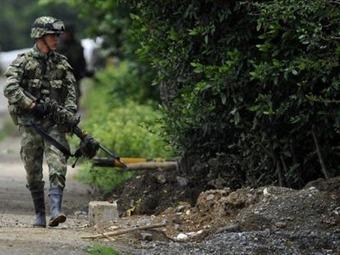 Soldado que asesinó a su comandante fue capturado