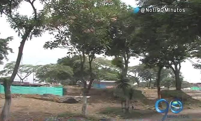 Habitantes de Paso del Comercio protestan por tala de árboles en el sector
