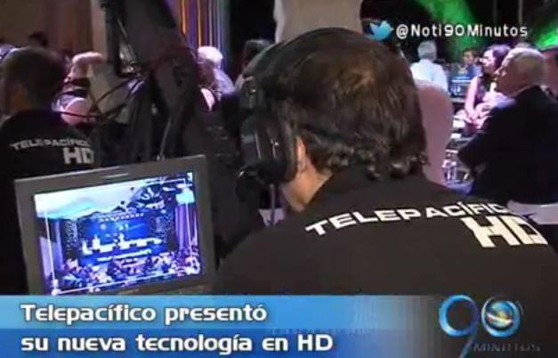 Telepacífico presentó su nueva tecnología HD para toda la región