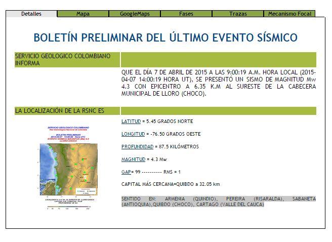 Dos sismos sacudieron el Pacífico colombiano este martes