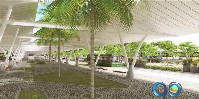 Asentamientos impiden avanzar en la construcción de la terminal de Aguablanca