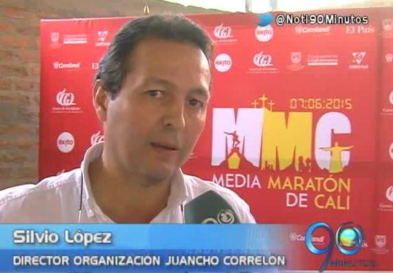 Con los Trotagonistas se lanzó la Media Maratón de Cali 2015